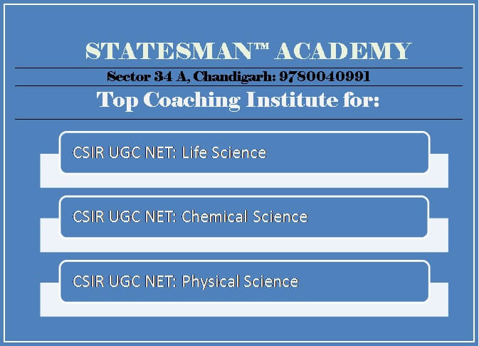 csir net life science coaching in chandigarh