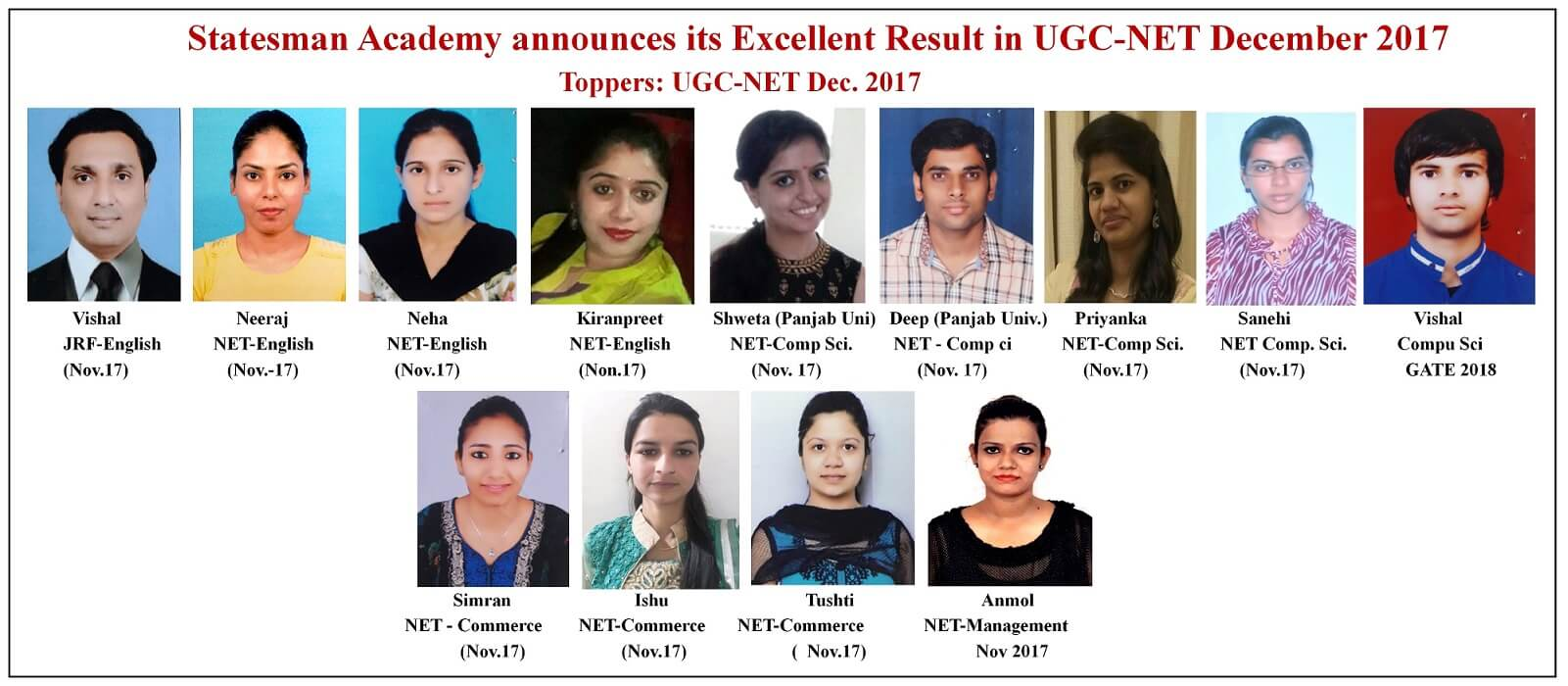ugc net coaching in chaandigarh