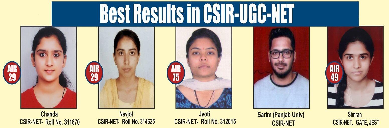 csir net chemistry coaching in chandigarh